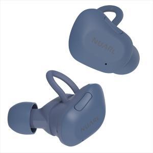 完全ワイヤレス コードレス Bluetooth イヤホン NUARL NT01L ネイビー 【NT01L-NV】|e-earphone