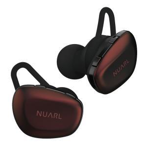 NUARL フルワイヤレスイヤホン N6 Pro2 ボルドー 【N6PRO2-BR】