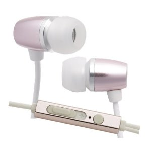 たのしいかいしゃ TA-AM3 シェルピンク マイク付アルミカナルイヤホン|e-earphone
