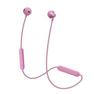 たのしいかいしゃ 『いい音』Bluetoothインナーイヤーアルミイヤホン ローズピンク [TA-BT4 RPK] 高音質 イヤフォン (送料無料)|e-earphone