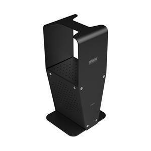 abee アルミヘッドホンスタンド AHS-501 ブラック|e-earphone