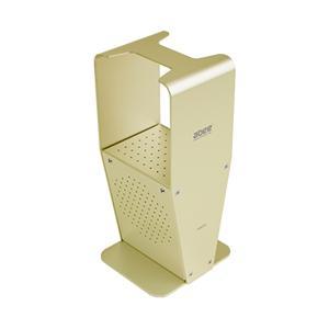 (お取り寄せ) abee アルミヘッドホンスタンド AHS-501 シャンパンゴールド(納期お問い合わせください)|e-earphone
