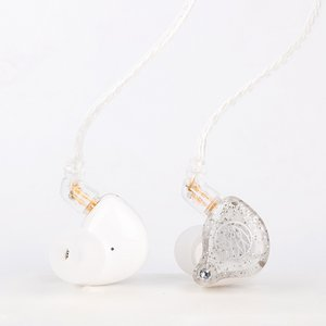 TFZ MY LOVE 2 シルバーホワイト おしゃれ 有線 ケーブル着脱式 カナル型 イヤホン (送料無料) e-earphone