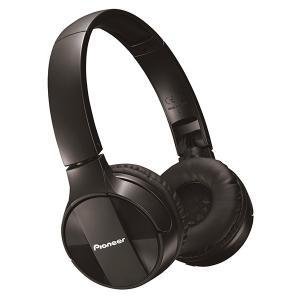 Pioneer パイオニア ヘッドホン Bluetooth ワイヤレス SE-MJ553BT-K ブラック (送料無料)|e-earphone