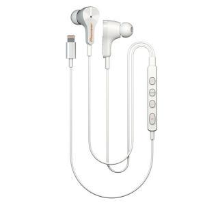 Lightning イヤホン iPhone専用 イヤフォン Pioneer RAYZ SE-LTC3R-W アイス (送料無料) e-earphone
