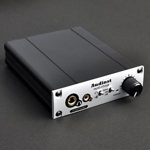 (お取り寄せ)Audinst HUD-mx2 USB DAC 据え置き型ヘッドホンアンプ(納期お問い合わせください)|e-earphone