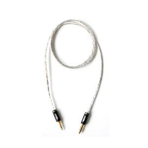 NOBUNAGA Labs 五十猛 (Itakeru) 3.5mm4極- 4.4mm5極 MDR-1AM2用ケーブル (送料無料) e-earphone