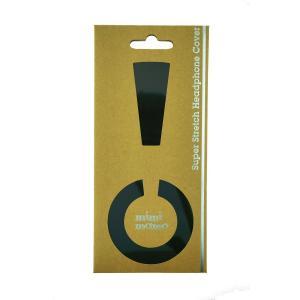 mimimamo(ミミマモ) スーパーストレッチヘッドホンカバー M(ブラック)|e-earphone