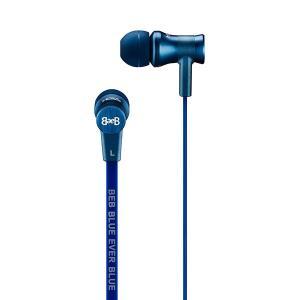 Blue Ever Blue ブルーエバーブルー Mars Series Model 1001 BL ブルー 高音質 カナル型 イヤホン イヤフォン (送料無料)|e-earphone