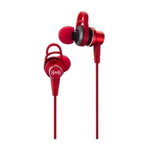 カナル型 イヤホン Blue Ever Blue ブルーエバーブルー Model 900 Red (送料無料)|e-earphone