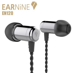 EARNiNE EN120 Silver 高音質 カナル型 イヤホン イヤフォン (送料無料)|e-earphone