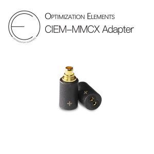 Optimization Elements OE 2pin (メス) to mmcx (オス) 黒色 e-earphone