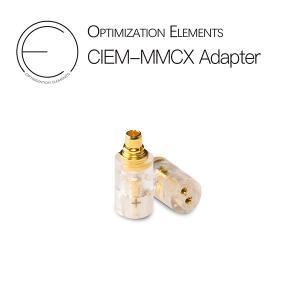 Optimization Elements OE 2pin (メス) to mmcx (オス) 透明色 e-earphone
