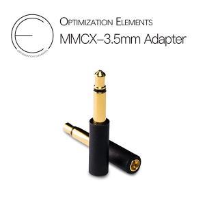 Optimization Elements OE mmcx (メス) to 3.5mm 2極 黒色 e-earphone