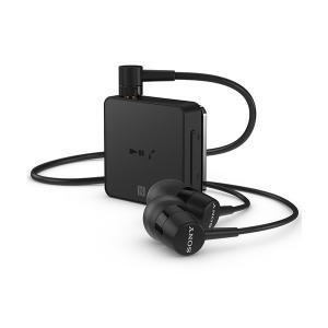 Bluetooth イヤホン ワイヤレス レシーバー マイク付き SONY SBH24B ブラック (送料無料)|e-earphone