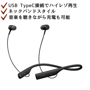 Bluetooth イヤホン SONY ソニー SBH90CJP B ブラック (送料無料)|e-earphone
