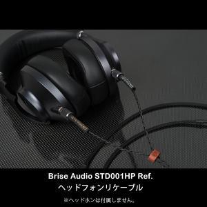 Brise Audio STD001HP Ref. MDR-Z1R,MDR-Z7,EAH-T700対応ネジ式端子-4極XLR 1.3m (送料無料) e-earphone