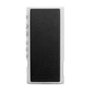 musashino LABEL NW-ZX300用フルアーマケース クリアカーボンブラック (送料無料)|e-earphone