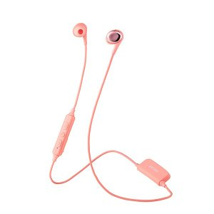 maxell MXH-BTC400PK ピンク ワイヤレス ハンズフリー通話 スマートフォン向け Bluetooth イヤホン (送料無料)|e-earphone