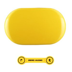 ZEROAUDIO(ゼロオーディオ) BANECHO ZA-BN-GYL(グロスイエロー)イヤホンケース&ヘッドホンクリップセット|e-earphone