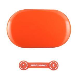 ZEROAUDIO(ゼロオーディオ) BANECHO ZA-BN-GOR(グロスオレンジ)イヤホンケース&ヘッドホンクリップセット|e-earphone