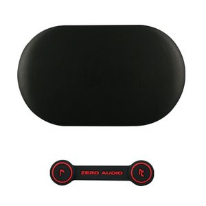 ZEROAUDIO(ゼロオーディオ) BANECHO ZA-BN-SBK(シルキーブラック)イヤホンケース&ヘッドホンクリップセット|e-earphone