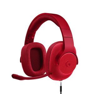 ゲーミングヘッドセット ロジクール G433 レッド PS4 PC ニンテンドーSwitch Xbox One対応 (送料無料)|e-earphone