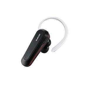 ELECOM(エレコム) LBT-HPS03BK(ブラック) Bluetooth イヤホン/片耳でも両耳でも使用可能なワイヤレス イヤホン (送料無料)|e-earphone
