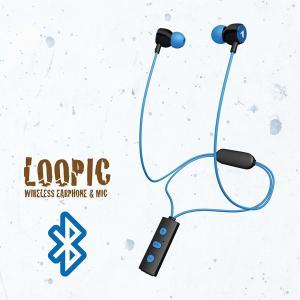 ワイヤレス Bluetooth イヤホン ALPEX BTN-A2500PB パステルブルー e-earphone
