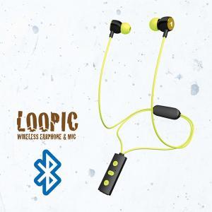 ワイヤレス Bluetooth イヤホン ALPEX BTN-A2500YE イエロー e-earphone