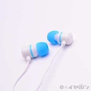 イヤホン カナル型 有線 両耳 ALPEX HSE-A500WPB ホワイトパステルブルー|e-earphone