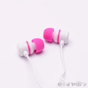 イヤホン カナル型 有線 両耳 ALPEX HSE-A500WPK ホワイトピンク|e-earphone