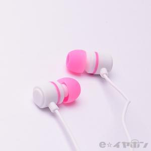 イヤホン カナル型 有線 両耳 ALPEX HSE-A500WLP ホワイトライトピンク|e-earphone