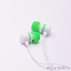 イヤホン カナル型 有線 両耳 ALPEX HSE-A500WG ホワイトグリーン|e-earphone
