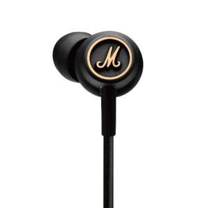Marshall(マーシャル) MODE EQ Black&Brass iPhone対応イヤホン (送料無料)|e-earphone