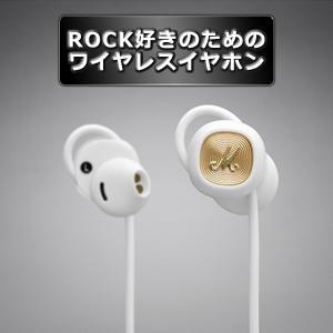 Marshall マーシャル ワイヤレス イヤホン MINORII Bluetooth White ホワイト (1年保証)(送料無料)|e-earphone