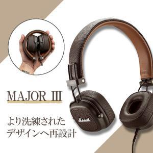 Marshall マーシャル Major III Brown 高音質 おしゃれ ヘッドホン ヘッドフォン (送料無料)|e-earphone