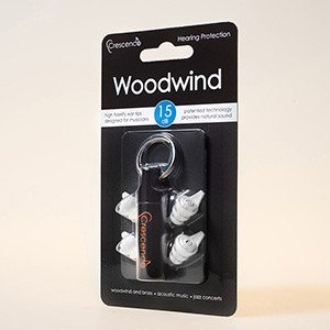 (お取り寄せ) Crescendo クレシェンド Woodwind(ミュージシャン用イヤープロテクター(耳栓)) (送料無料)|e-earphone