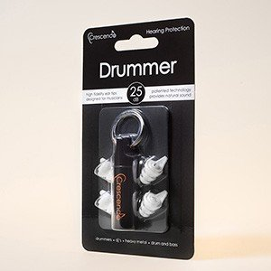 Crescendo(クレシェンド)Drummer(ミュージシャン用イヤープロテクター(耳栓)) (送料無料)|e-earphone