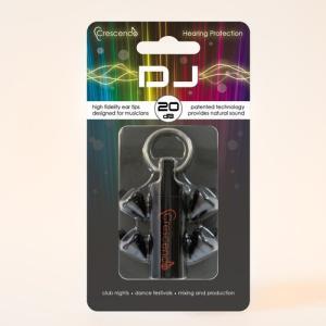 (お取り寄せ) Crescendo クレシェンド DJ (ミュージシャン用イヤープロテクター(耳栓)) (送料無料)|e-earphone