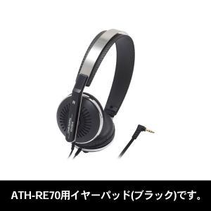 (お取り寄せ商品)audio-technica(オーディオテクニカ)HP-RE70 BK(ブラック)...
