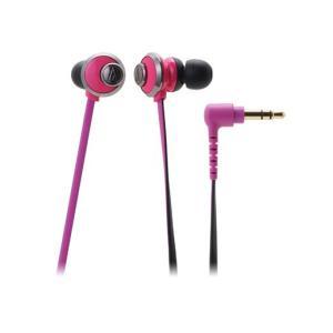 女性向け 有線 カナル型 イヤホン audio-technica オーディオテクニカ ATH-CKF77-PK ピンク|e-earphone