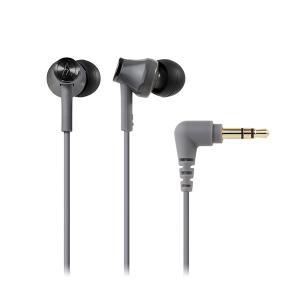 audio-technica オーディオテクニカ ATH-CK350M GY グレー カナル型 小型 有線 イヤホン イヤフォン|e-earphone