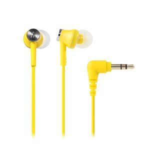 audio-technica オーディオテクニカ ATH-CK350M YL イエロー カナル型 小型 有線 イヤホン イヤフォン|e-earphone