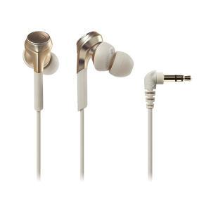 audio-technica オーディオテクニカ ATH-CKS770X CG シャンパンゴールド カナル型 ハイレゾ対応 有線 イヤホン (送料無料)|e-earphone
