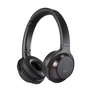 重低音 密閉型 ワイヤレス ヘッドホン audio-technica オーディオテクニカ ATH-WS330BT BK ブラック Bluetooth ブルートゥース ヘッドフォン (送料無料)|e-earphone