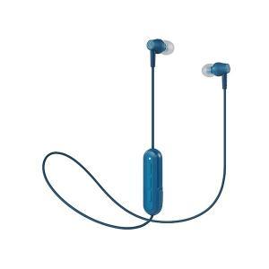 (新製品) audio-technica オーディオテクニカ ATH-CK150BT BL ブルー Bluetooth ワイヤレス カナル型イヤホン (送料無料)|e-earphone