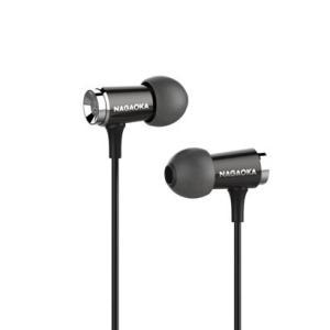 NAGAOKA VINON P609 ブラック 忠実なハイレゾ音源を再現 (送料無料)|e-earphone