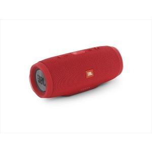 JBL Bluetooth スピーカー ワイヤレス 防水 重低音 CHARGE3 レッド|e-earphone