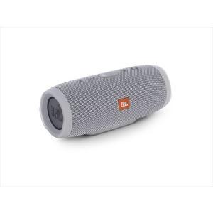 JBL Bluetooth スピーカー ワイヤレス 防水 重低音 CHARGE3 グレー|e-earphone